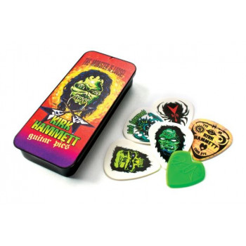 Набор медиаторов DUNLOP KH01T088 KIRK HAMMETT SIGNATURE PICK TIN MONSTER LOOSE 0.88