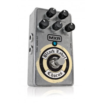 Педаль для гитары DUNLOP ZW38 MXR BLACK LABEL CHORUS