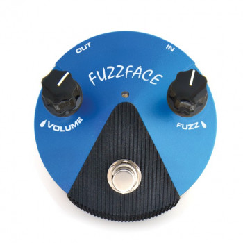 Педаль для гитары DUNLOP FFM1 FUZZ FACE MINI SILICON